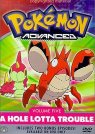 Pokemon Advanced: Volume 5 - A Hole Lotta Trouble Movie