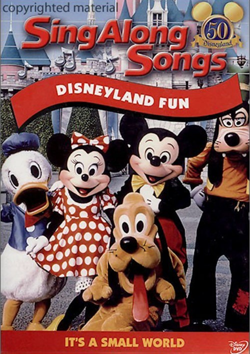 Sing Along Songs: Disneyland Fun Movie