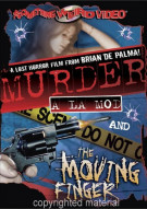 Murder A La Mod / The Moving Finger (Double Feature) Movie