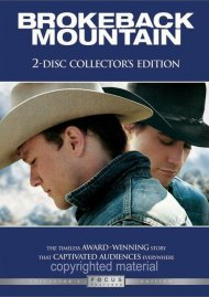 Brokeback Mountain: Collectors Edition Movie