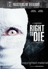 Masters Of Horror: Rob Schmidt - Right To Die Movie