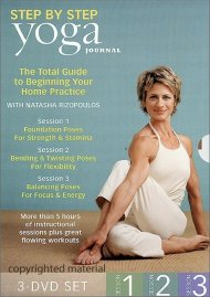 Yoga Journals Yoga Step By Step 3-Pack Movie