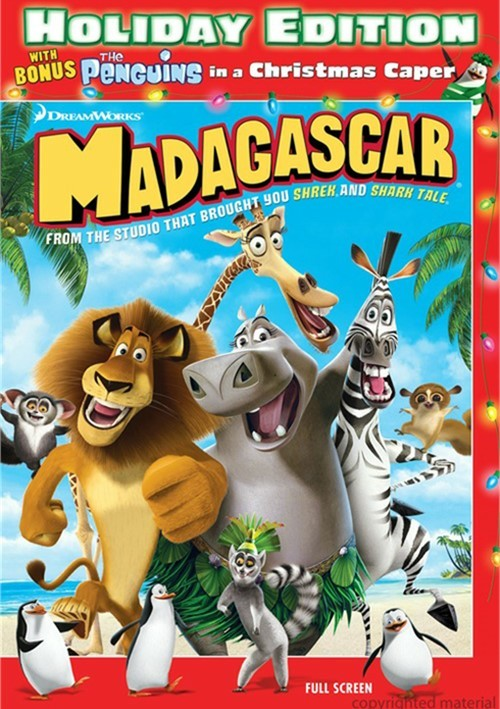 Madagascar: Holiday Edition (Fullscreen) Movie