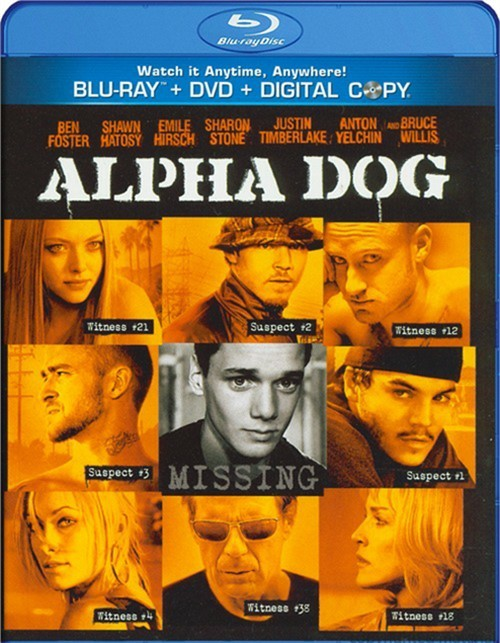 Alpha Dog (Blu-ray + DVD + Digital Copy) Blu-ray