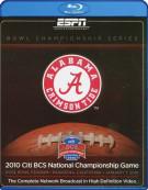 2010 ESPN Citi BCS National Championship Blu-ray