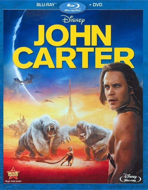 John Carter (Blu-ray + DVD Combo) Blu-ray