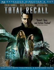 Total Recall: Extended Directors Cut (Blu-ray + DVD + UltraViolet) Blu-ray