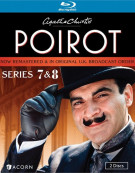 Agatha Christies Poirot: Series 7 And 8 Blu-ray