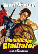 Magnificent Gladiator / Revolt Of The Barbarians (Double Feature) Movie