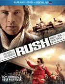 Rush (Blu-ray + DVD + UltraViolet) Blu-ray