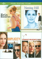 Erin Brockovich / Notting Hill / Duplicity / Charlie Wilsons War Movie