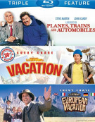 Planes, Trains And Automobiles / National Lampoons Vacation / National Lampoons European Vacation (Triple Feature) Blu-ray