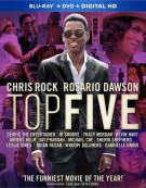 Top Five (Blu-ray + DVD + UltraViolet) Blu-ray