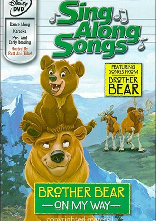 Brother Bear: On My Way - Sing Along Songs (DVD 2003 ... Brother Bear Dvd Menu