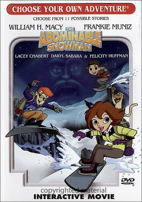 Choose Your Own Adventure The Abominable Snowman Dvd 2006 Dvd Empire