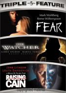 Fear / The Watcher / Raising Cain (Triple Feature) Movie