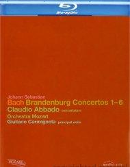 Bach: Brandenburg Concertos 1-6 Blu-ray