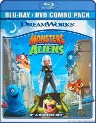 Monsters Vs. Aliens (Blu-ray + DVD Combo) Blu-ray