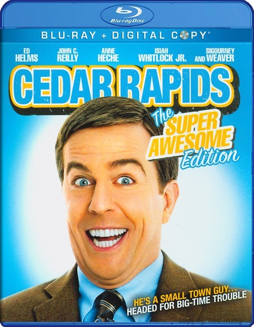 Cedar Rapids: The Super Awesome Edition Blu-ray