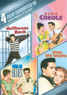 4 Films Favorites: Elvis Presley Blues Collection Movie