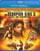Scorpion King 3, The: Battle for Redemption (Repackage) Blu-ray