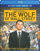Wolf Of Wall Street, The (Blu-ray + DVD + UltraViolet) Blu-ray