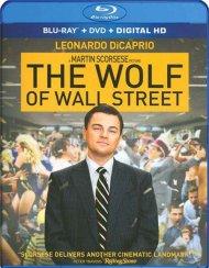 Wolf Of Wall Street, The (Blu-ray + DVD + UltraViolet) Blu-ray