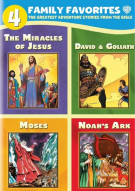 4 Family Favorites: Greatest Adventures Of The Bible Movie