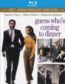 Guess Whos Coming to Dinner: 50th Anniversary Edition Blu-ray