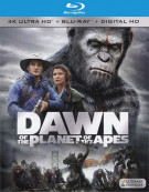 Dawn Of The Planet Of The Apes (4K Ultra HD + Blu-ray + UltraViolet) Blu-ray