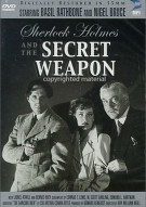 Sherlock Holmes And The Secret Weapon Movie