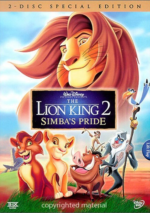 Lion King 2, The: Simbas Pride - 2 Disc Special Edition Movie
