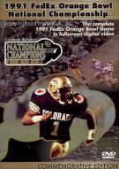 1991 FedEx Orange Bowl National Championship Movie