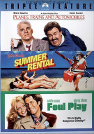 Planes, Trains And Automobiles / Summer Rental / Foul Play (Triple Feature) Movie