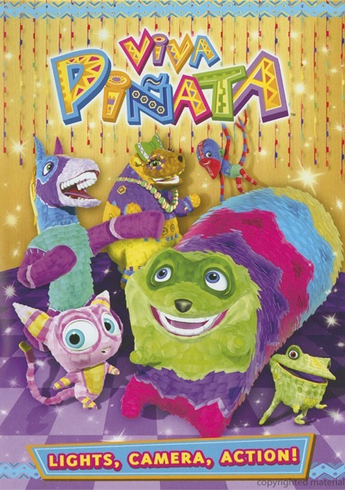 Viva Pinata: Lights, Camera, Action! Movie
