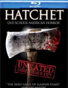 Hatchet: Unrated Directors Cut Blu-ray