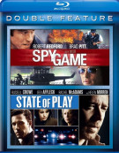 Spy Game / State Of Play (Double Feature) Blu-ray