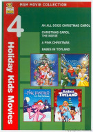 All Dogs Christmas Carol, An / Christmas Carol: The Movie / Pink Panther: A Pink Christmas / Babes In Toyland (4 Holiday Kids Movies) Movie