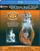 2006 Rose Bowl Game - National Championship Blu-ray