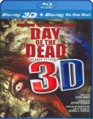 Day Of The Dead 3D (Blu-ray 3D + Blu-ray) Blu-ray