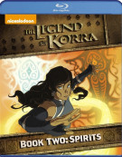 Legend Of Korra: Book Two - Spirits  Blu-ray