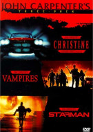 John Carpenters 3-Pack: Vampires/ Christine/ Starman Movie