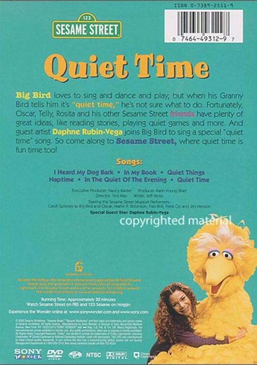 sesame street quiet time dvd 2003 dvd empire