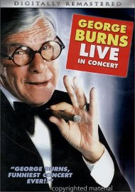 George Burns In Concert Movie