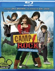 Camp Rock: Extended Rock Star Edition Blu-ray