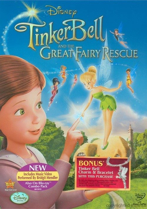Tinker Bell And The Great Fairy Rescue (DVD 2010) | DVD Empire