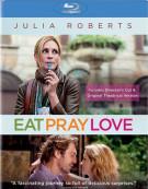 Eat Pray Love: Directors Cut & Original Theatrical Version Blu-ray