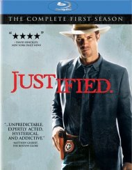 Justified: The Complete First Season Blu-ray