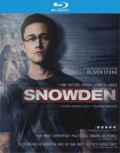Snowden (Blu-ray + DVD + UltraViolet) Blu-ray