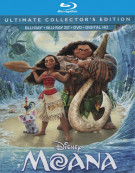 Moana (Blu-ray 3D + Blu-ray + DVD + UltraViolet)  Blu-ray